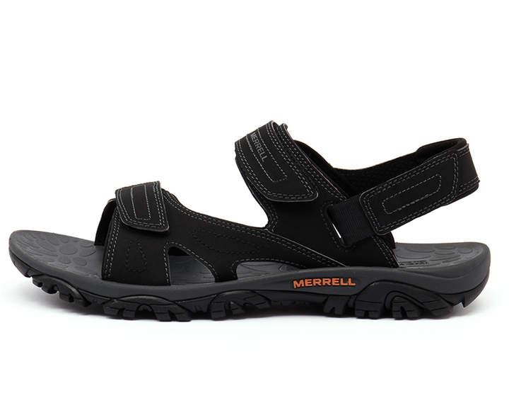 Merrell Mojave sport sandal Black Sandals Mens Shoes Casual Sandals-flat Sandals