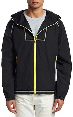 John Elliott High Shrunk Full Zip Nylon Jacket