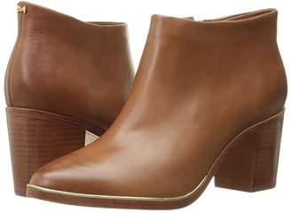 Ted Baker Hiharu 2 (Dark Tan Leather) Women's Boots