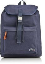 Lacoste Men's Flap Backpack Navy