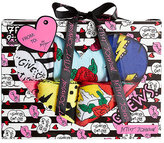 Betsey Johnson 7 Pack Wild At Heart Crew Sock Gift Box