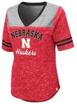 Thumbnail for your product : Colosseum Women's Nebraska Cornhuskers Mr Big V-neck T-Shirt