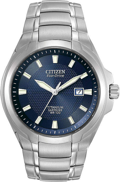 Citizen Eco-Drive Mens Titanium Watch BM7170-53L