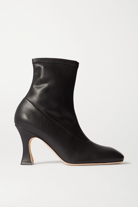 A.W.A.K.E. Mode New Priscilla Pu Ankle Boots - Black