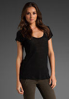Patterson J. Kincaid Lani Linen Slub T-Shirt