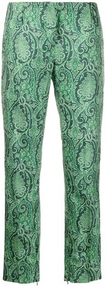 Dolce & Gabbana Pre Owned 1990's Paisley Print Trousers