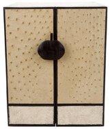 R & Y Augousti R&Y Augousti Ostrich Jewelry Box