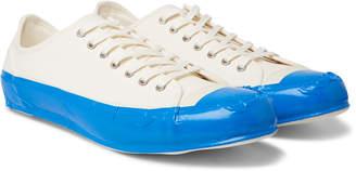 Comme des Garcons Taped Cotton-Canvas Sneakers