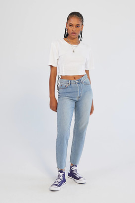 BDG High-Waisted Slim Straight Jean Light Wash