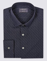 Limited EditionMarks and Spencer Pure Cotton Skinny Fit Shirt