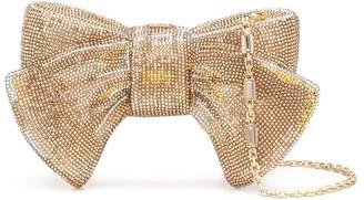 Judith Leiber Bow embellished clutch bag