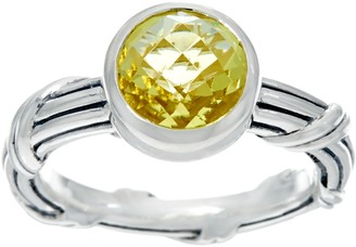 Peter Thomas Roth Sterling 1.40 cttw LemonQuartz Ring