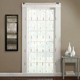 Croscill Bamboo Jewelry Rod Pocket Window Curtain Panel
