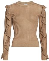 Joie Beza Shimmer Knit Sweater