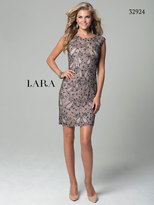 Lara Dresses - 32924 Dress In Mauve Gray