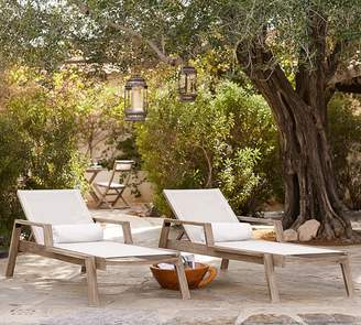 Pottery Barn Indio Mesh Stacking Chaises