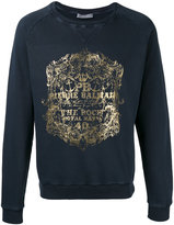Pierre Balmain metallic print sweatshirt - men - Cotton - 44