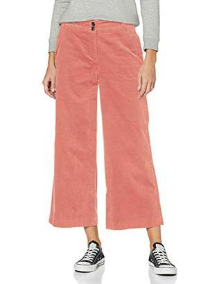 Tom Tailor Women's Corduroy Culotte Trousers,W(Size: 44)