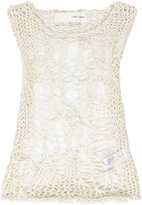 Isabel Benenato spiderweb top