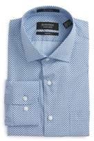 Nordstrom Men's Trim Fit Geometric Dress Shirt