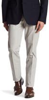 "Bonobos Foundation Grey Plaid Regular Fit Double-Pleated Cotton Trouser - 30-32"" Inseam"