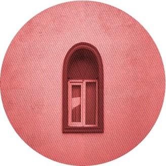 East Urban Home Terkel Wool Pink Area Rug Rug Size: Runner 2' x 5'