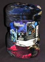 "Hasbro Transformers 46"" x 60"" Ready Defenders Micro Raschel Throw"