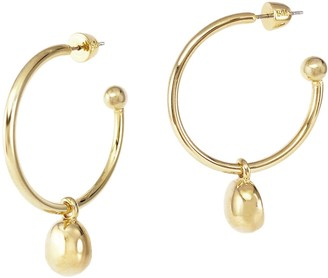 Biko Galina 2-In-1 Hoops Large Gold
