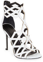 KENDALL + KYLIE Elena Leather Caged Sandals