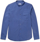 Boglioli - Grandad-collar End-on-end Cotton Shirt