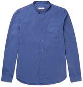 Boglioli Grandad-Collar End-On-End Cotton Shirt