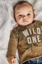 Next Boys Tan Wild One Sweater (0mths-2yrs) - Tan