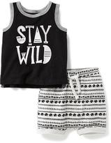 Old Navy 2-Piece Tank and Shorts Set for Baby