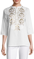 Figue Jasmine Cotton Sequin Tunic