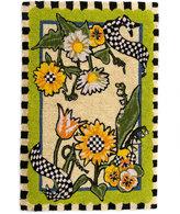 Mackenzie Childs MacKenzie-Childs Sunflower Entrance Mat