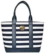 Michael Kors Bag Fulton Canvas MD Handbag Purse Striped