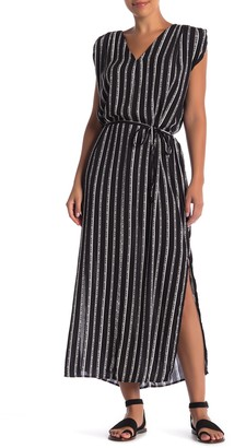 Velvet Heart Aurelie Striped Maxi Dress
