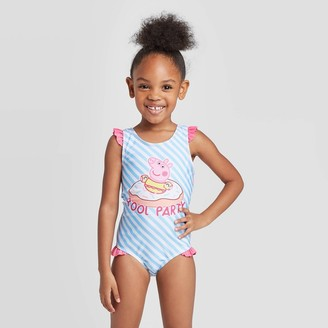 Peppa Pig Toddler Girls' One piece swimsuit - Blue