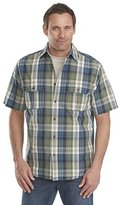 Woolrich Men's Midway Yarn Dye Short Sleeve Shirt