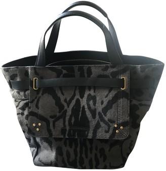Jerome Dreyfuss Vladimir Grey Pony-style calfskin Handbags