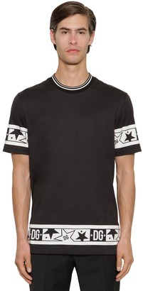 Dolce & Gabbana SUPER LIGHT COTTON JERSEY T-SHIRT