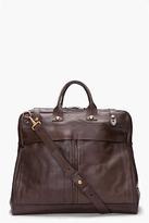 Rag and Bone RAG & BONE Brown Leather Weekender Bag