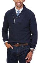 Nautica Men's Thermal Shawl Collar Sweater