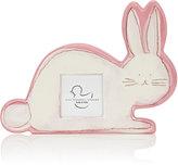 "Alex Marshall Studios Ceramic Bunny 3"" x 3"" Picture Frame-PINK"