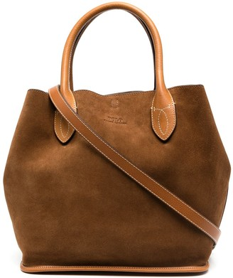Polo Ralph Lauren Suede Tote Bag