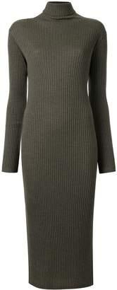 TOMORROWLAND turtleneck ribbed-knit dress