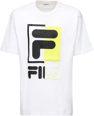 Fila Urban Saku Logo Cotton T-shirt