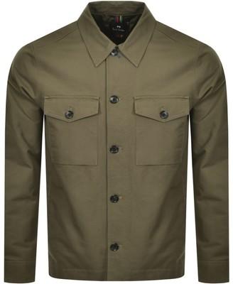 Paul Smith Overshirt Jacket Khaki