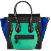 Celine Micro Ponyhair Luggage Tote