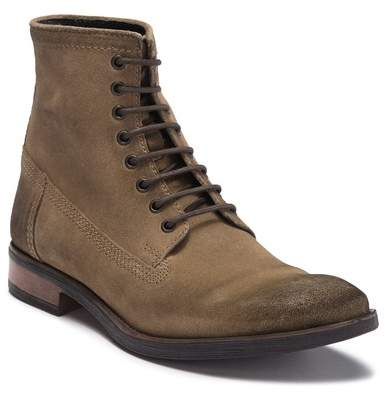 Frank Wright Cleef Suede Lace-Up Boot